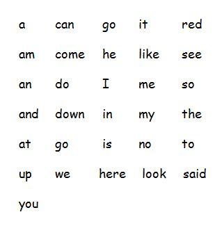 sight-words-kindergarten