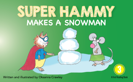 super-hammy-makes-a-snowman