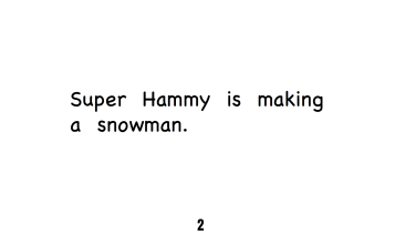 Super Hammy - Snowman pg. 2