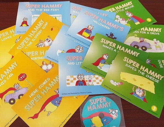 super hammy books and cd